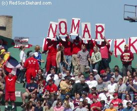 The early days of the streak featured the K-Men cheering for Nomar and marking los punchados de Pedro.