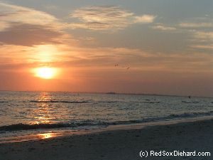 Sunset on beautiful Ft. Myers Beach.